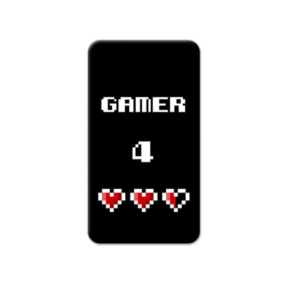 Videojugador 4 vida - para Pixel corazones - Geek Metal camiseta ...
