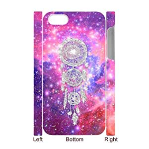 Cheap 3D Hard Protective Plastic Case for Iphone 4,4S - Galaxy Nebula Space CM03L7730