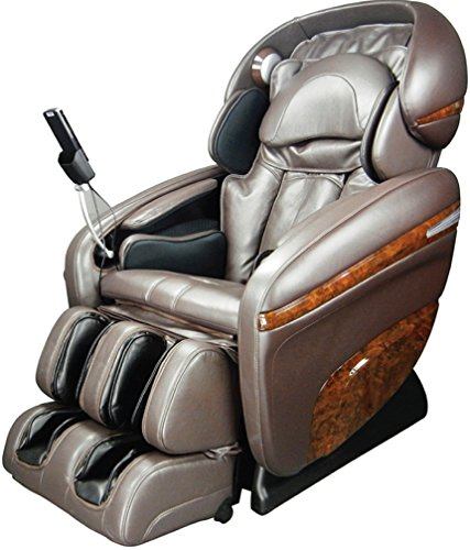 Osaki OS-3D Pro Dreamer Full Body Massage Chair, Foot Rollers, 2 Stage Zero Gravity, Computer Body Scan (Brown)