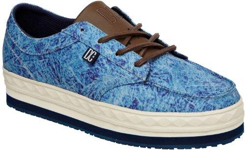 DC Shoes - Zapatillas de deporte para mujer azul 40