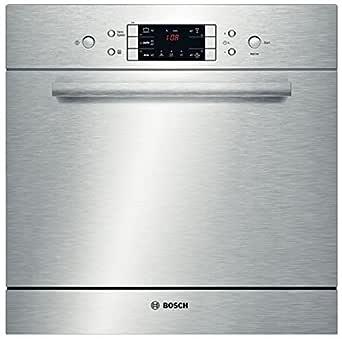 Bosch SCE52M65EU lavavajilla Bajo encimera 8 cubiertos A+ - Lavavajillas (Bajo encimera, Acero inoxidable, Acero inoxidable, Botones, LED, 1,7 m)