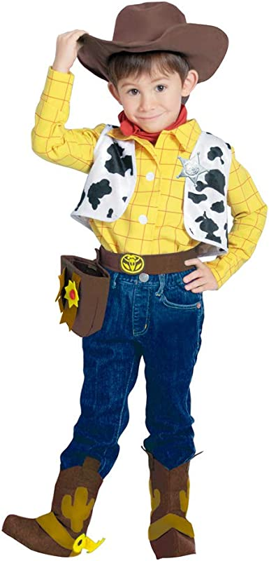 Amazon Com Disney Toy Story Costume Cowboy Style Woody Costume