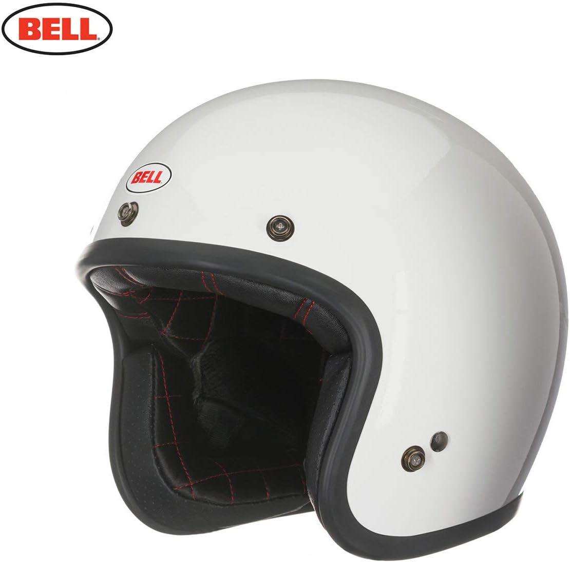BELL Jet Custom 500 DLX Pulse Gloss Noir Rouge