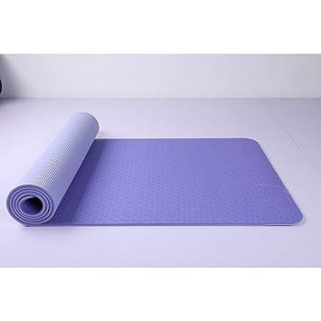 HYTGFR Estera de Yoga Pad Antideslizante Adelgazamiento ...