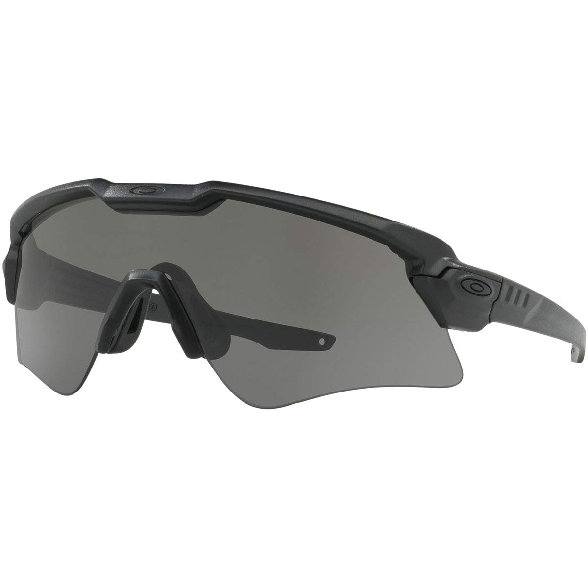 Oakley Men's Standard Issue Ballistic M Frame Alpha Sunglasses,OS,Matte Black/Clear by Oakley