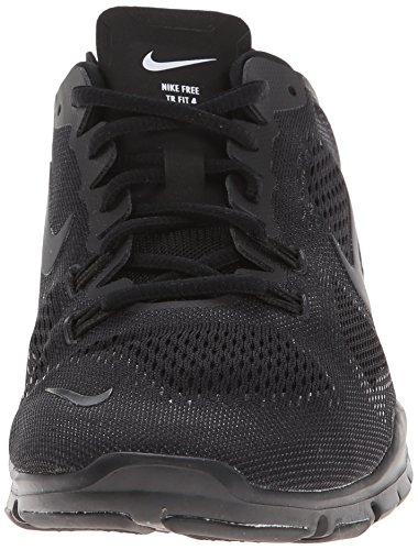innovative design b6a45 14aac Nike Wmn Nike Free 5.0 Tr Fit 4 Prt - Zapatillas para mujer Black Black ...
