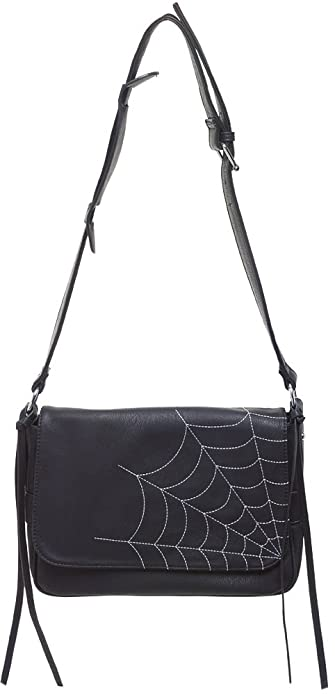 568bb97ec5fb Sourpuss Spiderweb Cheap Thrills Purse  Handbags  Amazon.com