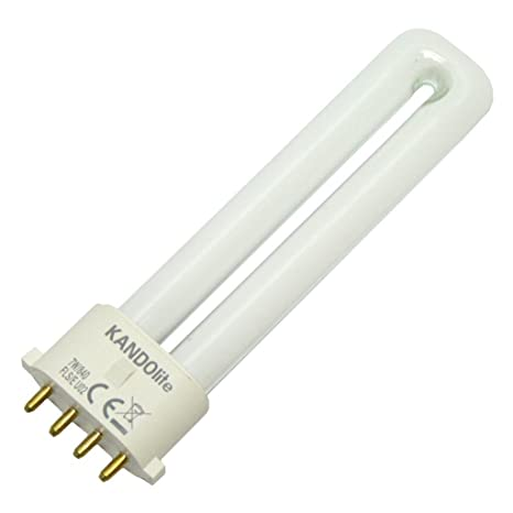 Kandolite 74000 - FLS/E 7W 4000k Single Tube 4 Pin Base Compact Fluorescent Light Bulb - - Amazon.com