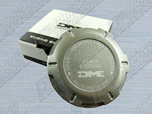 Scion xA xB xD tC DME Aluminum Power Steering Pump Cap Cover Silver