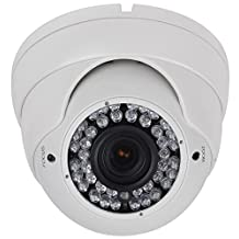 HDView 2.4MP HD-TVI Outdoor HD SONY Sensor Turbo Platinum Dome Camera 2.8-12mm Lens 1080P 42IR, ONLY WORK WITH HD-TVI DVR