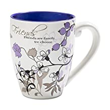 Mark My Words 66341 Friends Ceramic Mug, 20 oz Pavilion Gift Company, Multicolored