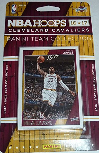 Basketball Team Set - Cleveland Cavaliers 2016 2017 Hoops NBA Basketball Factory Sealed 11 Card Team Set with Lebron James Kyrie Irving Plus