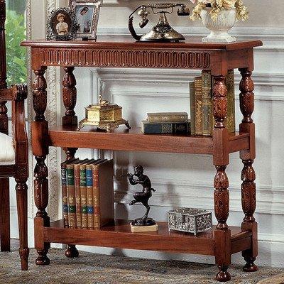 - Design Toscano Jacobean-style Triple Etagere