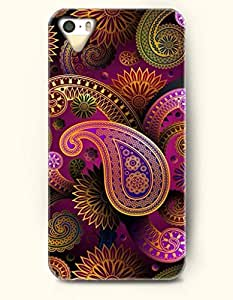 OOFIT Apple iPhone 5 5S Case Paisley Pattern ( Royal Paisley Pattern )