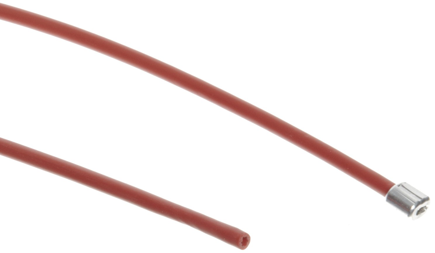 Accuform KDD635 15-ft. Nylon-Coated Steel Cable For Use With KDD630 STOPOUT Cinch Cable Lockout, Red
