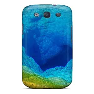 For MeSusges Galaxy Protective Case, High Quality For Galaxy S3 Blue Hole In The Sea Skin Case Cover