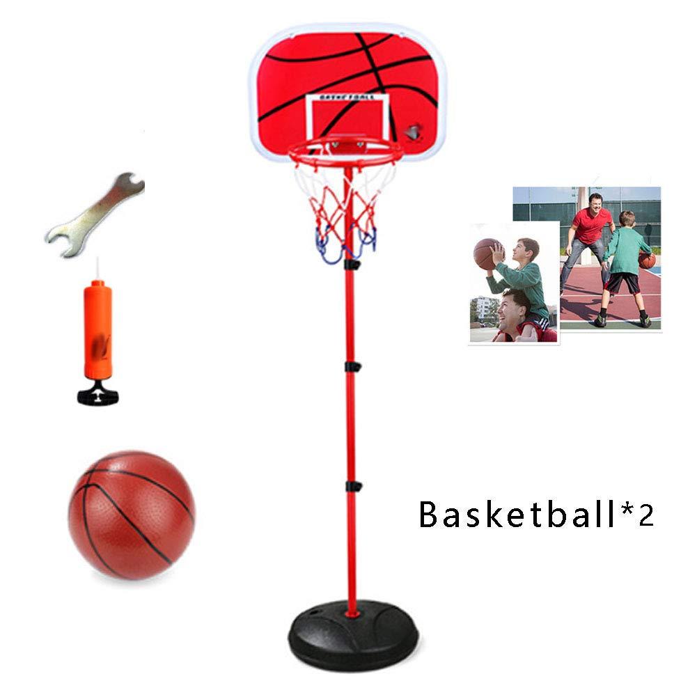 en venta en línea GEWCB El Aro Aro Aro De Baloncesto para Niños Puede Subir Y Bajar Los Juguetes Interiores Y Exteriores De 1.7 Metros Y 2 Bolas  Con 100% de calidad y servicio de% 100.