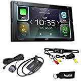 JVC KW-M740BT Apple CarPlay, Android Auto 2-DIN (No CD Drive) with Back up