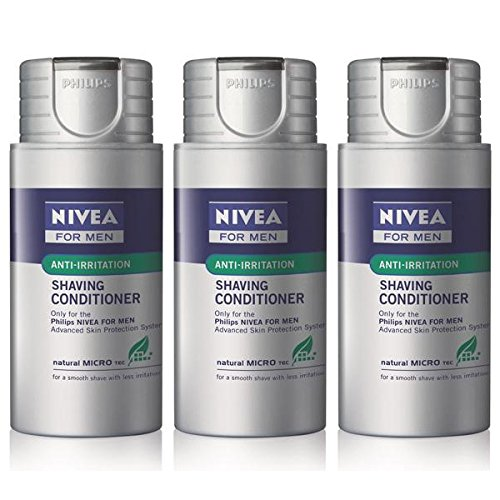 Men Shaving Conditioner Lotion (Norelco NORHS8003 Norelco Philips Norelco Nivea for Men Shaving Conditioner Pack Of 3 HS800 )