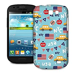 Phone Case For Samsung Galaxy Express - The Big Apple New York USA Designer Lightweight