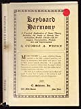 Keyboard Harmony, George A. Wedge, 0781291380