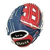Vinci Limited 13'' Softball/Baseball Glove Red, White, & Blue Left Handed Thrower