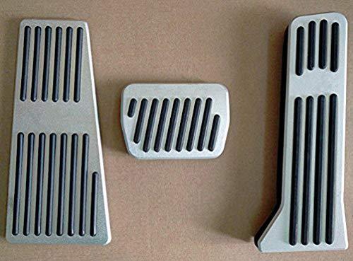 AT Repose-pieds Voiture P/édale Capuchons Decoration Aluminium Et Caoutchouc Antid/érapant Pour CX-5 Main Gauche Drive Voiture