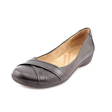 Naturalizer Frauen Geschlossener Zeh Leder Gleit Sandalen