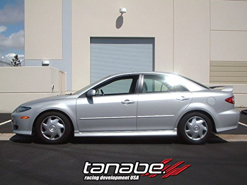 Tanabe TNF091 NF210 Lowering Spring with Lowering Height 1.5/0.7 for 2003-2007 Mazda Mazda 6 (Tanabe Sustec Nf210 Lowering Springs)