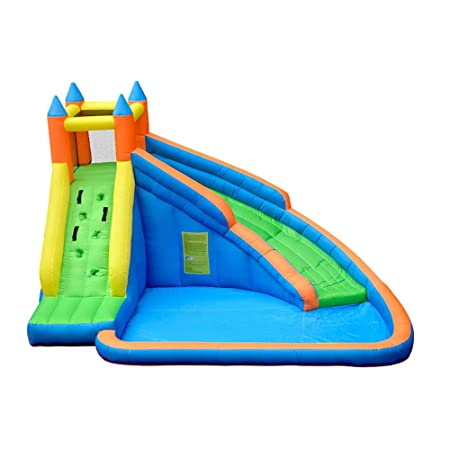Feixunfan Castillo Inflable Castillo Inflable Tobogán Inflable ...