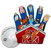 Juego de marionetas Get Ready Kids Glove: Old MacDonald's Farm
