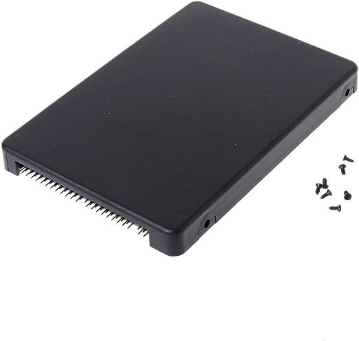 BIlinli Mini Disco Duro SATA mSATA SSD a 44Pin Adaptador IDE con ...