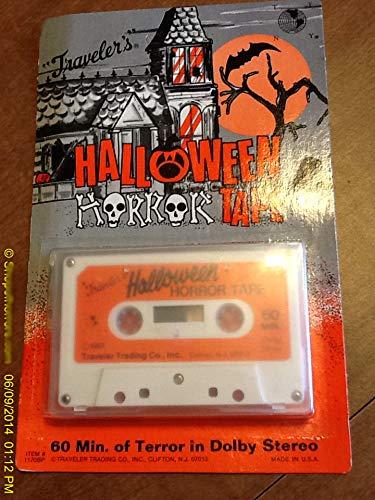 (travelers brand - halloween horror tape #1170bp - 60 MIN DOLBY)