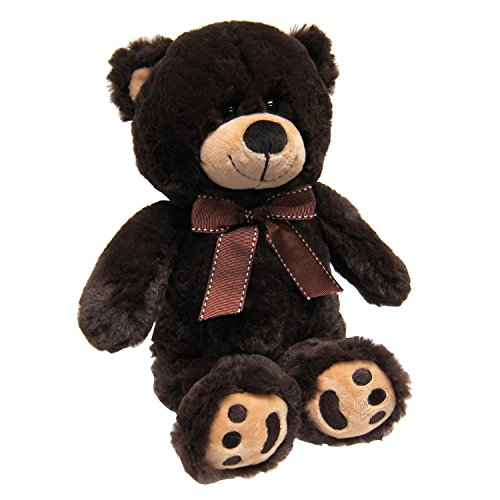 Teddy Bear Brown Dark (JOON Mini Teddy Bear, Dark Brown)