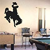 NCAA Wyoming Cowboys Logo Wall art Sticker Decal (S1083)