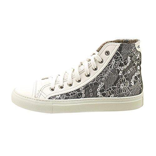 Studswar Rosalyn Mode Sneakers - Svart