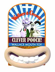 Wallace and Gromit Big Mouth Squeaky Latex Toy
