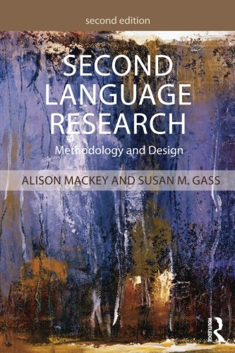 Second Language Research: Methodology and Design by imusti