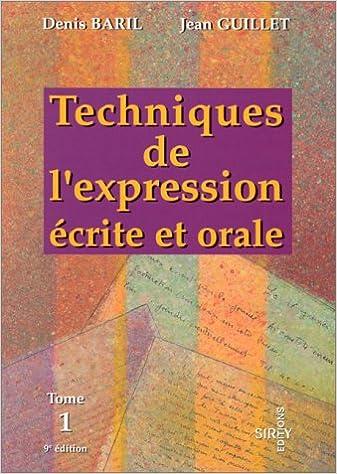 Telecharger Google Book En Ligne Techniques De L Expression