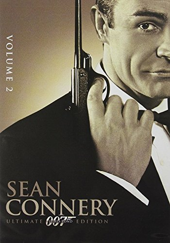SEAN CONNERY 007 James Bond Ultimate Edition Volume 2 DVD Set (Thunderball, You Only Live Twice and Diamons Are Forever)