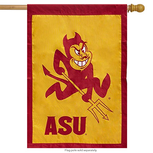 NCAA 28 in. x 44 in. Arizona State University Applique House Flag