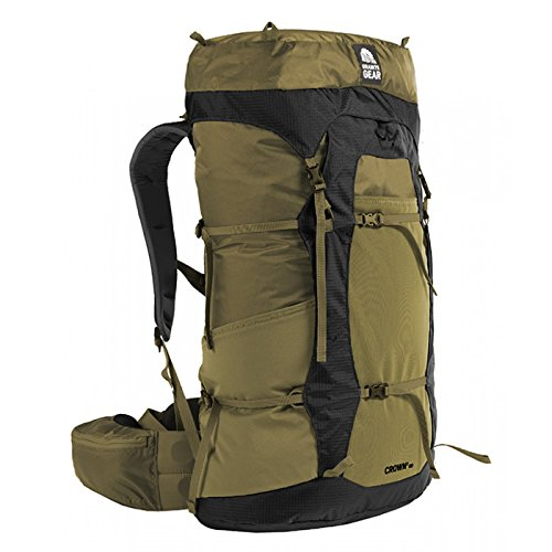 Granite Gear Crown 2 60 Backpack - Men's Highland Peat/Black Regular by Granite Gear