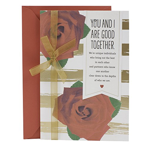 Hallmark Mahogany Valentines Day Greeting Card for Romantic Partner (Good Together)