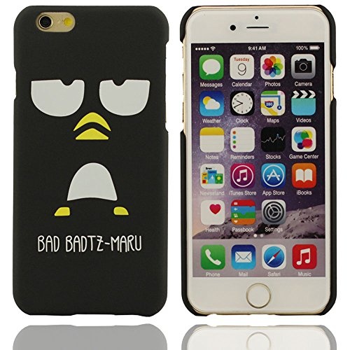 Motif de mauvaise badtz-maru Cartoon Design unique Hard Cover Case Coque de protection en plastique pour Apple iPhone 6 6S 4.7 inch