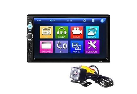 Tongshi 7 Touch HD Bluetooth de la pantalla del GPS del coche de radio estéreo 2