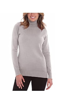 Joseph A. Women s Solid Long Sleeve Turtleneck Sweater at Amazon Women s  Clothing store  4ae47ddd9
