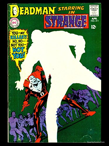 Strange Adventures #211 FN 6.0 Tongie Farm Collection Pedigree