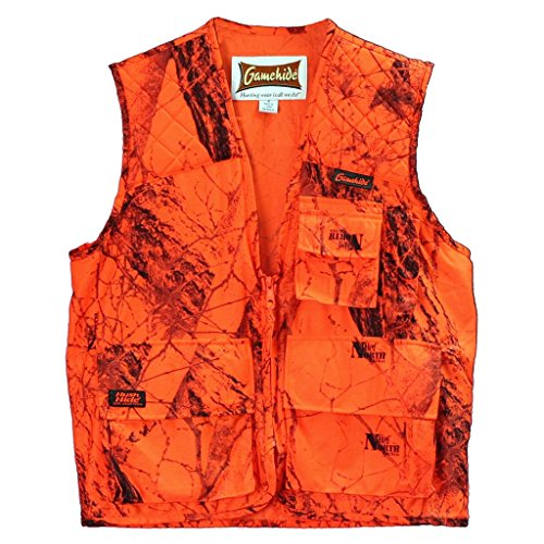 Gamehide Sneaker Big Game Vest Blaze Camo, X-Large