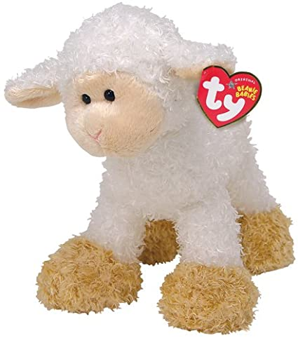 86d1d12c533 Image Unavailable. Image not available for. Color  Ty Beanie Baby Baaabsy  lamb