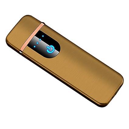 Yeleo Trosetry eléctrico - Mechero, Dual ARC Lighter, USB ...